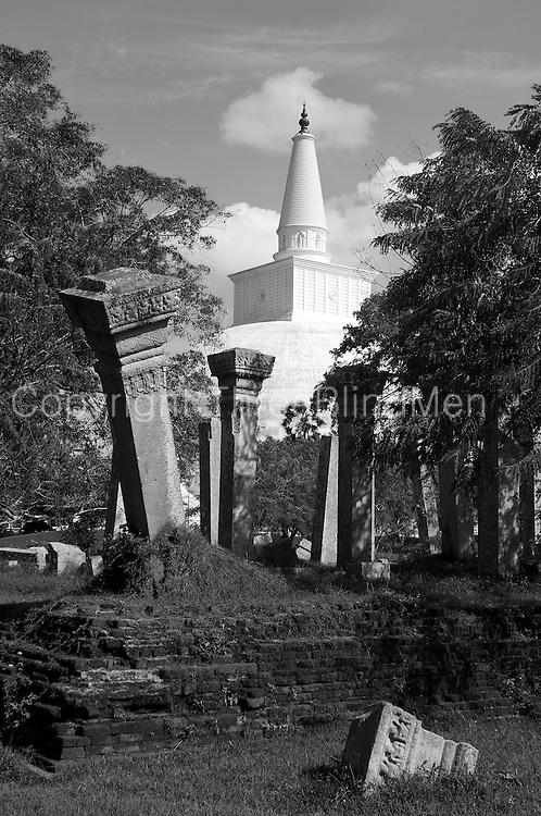 Ruwanveliseya Dagoba, Anuradhapura.