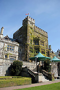 Canada, British Columbia, Vancouver Island, Royal Roads University. Hatley Castle