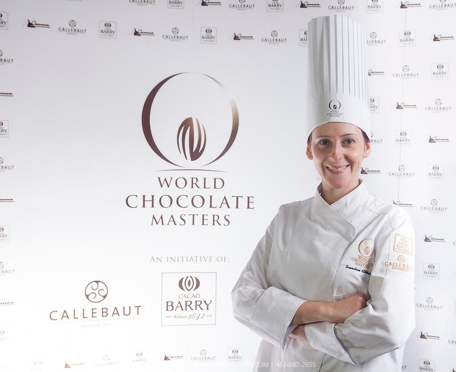 Sandra Abballe. World Chocolate Masters Canadian Selection, January 20, 2013.