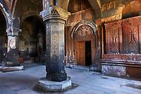 Armenie, province d'Aragatsotn, eglise d'Hovhannavank // Armenia, Aragatsotn province, Hovhannavank church