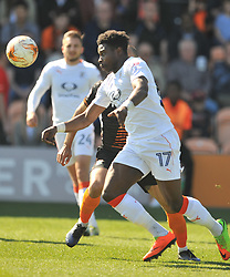 PELLY RUDDOCK MPANZU LUTON TOWN, Barnet v Luton Town EFL Sky Bet League 2 The Hive, Saturday 8th April 2017, Score 0-1<br /> Photo:Mike Capps