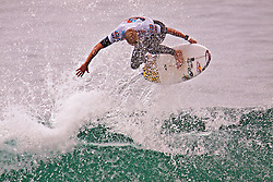 HUNTINGTON BEACH, California/USA (Sunday, August 8, 2010) - Two-Time World Champion Mick Fanning of Australia at US Open of Surfing 2010 Mens Quarter Finals Heat 2