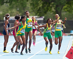 adidas Grand Prix track & field: Junior Girls' 4x400m Relay