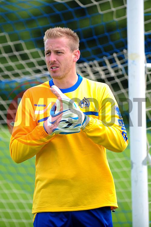 Bristol Rovers' goalkeeper, Steve Mildenhall - Photo mandatory by-line: Dougie Allward/JMP - Tel: Mobile: 07966 386802 24/06/2013 - SPORT - FOOTBALL - Bristol -  Bristol Rovers - Pre Season Training - Npower League Two