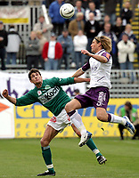 ◊Copyright:<br />GEPA pictures<br />◊Photographer:<br />Norbert Juvan<br />◊Name:<br />Helstad<br />◊Rubric:<br />Sport<br />◊Type:<br />Fussball<br />◊Event:<br />OEFB Stiegl-Cup, SV Mattersburg vs FK Austria Mempis Wien<br />◊Site:<br />Mattersburg, Austria<br />◊Date:<br />10/04/04<br />◊Description:<br />Markus Schmidt (Mattersburg), Thorstein Helstad (A.Wien)<br />◊Archive:<br />DCSNJ-1004041302<br />◊RegDate:<br />10.04.2004<br />◊Note:<br />8 MB - KA/KA