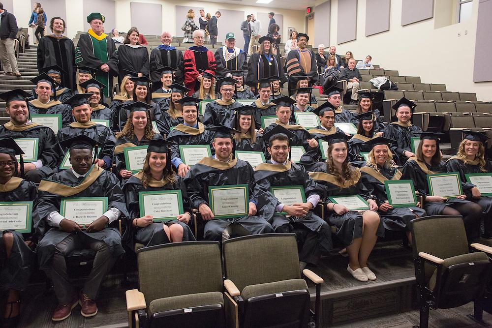 Ohio University College of Business class of 2016