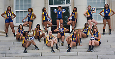 2012 A&T Volleyball Team Shots