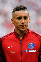 Marquinhos of Paris Saint Germain before the National Cup Final match between Angers SCO and Paris Saint Germain PSG at Stade de France on May 27, 2017 in Paris, France. (Photo by Johnny Fidelin/Icon Sport)