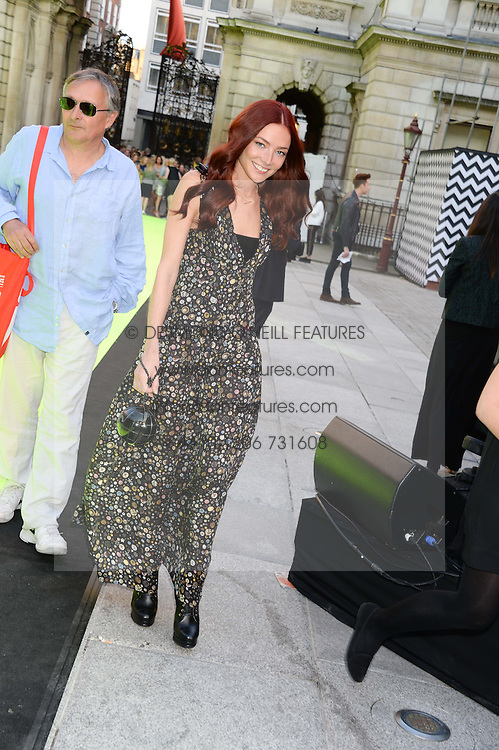 CLARA PAGET at the preview party for The Royal Academy Of Arts Summer Exhibition 2013 at Royal Academy of Arts, London on 5th June 2013.