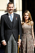 042313 prince felipe and princess letizia cervantes award