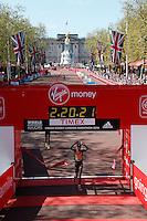 Edna Kiplagat of Kenya wins the Elite Women's Race in a time of 02:20:21 at The Virgin Money London Marathon 2014 on Sunday 13 April 2014<br /> Photo: Dillon Bryden/Virgin Money London Marathon<br /> media@london-marathon.co.uk