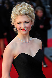 Scarlett Strallen at the Olivier Awards 2012 at the Royal Opera House in London, 15 th April 2012 Photo by: Chris Joseph / i-Images