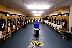 A general view of the Wasps dressing room - Mandatory by-line: Robbie Stephenson/JMP - 12/10/2019 - RUGBY - Ricoh Arena - Coventry, England - Wasps v Worcester Warriors - Premiership Rugby Cup