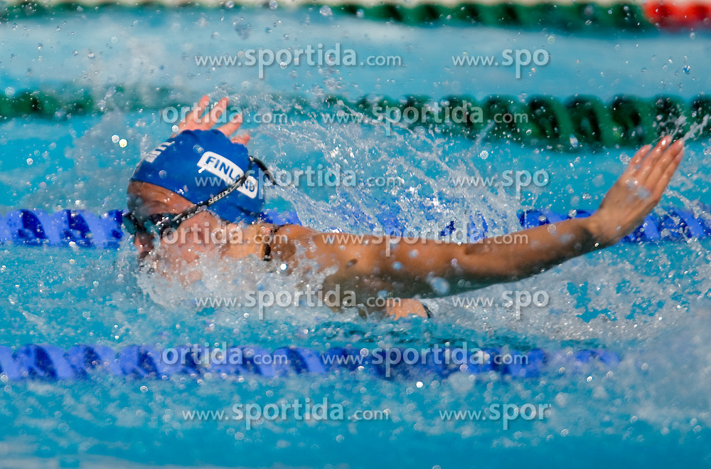 Linda Laihorinne of Finland competes during the Women's 50m Butterfly Heats during the 13th FINA World Championships Roma 2009, on July 31, 2009, at the Stadio del Nuoto,  in Foro Italico, Rome, Italy. (Photo by Vid Ponikvar / Sportida)