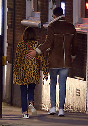 Love Island presenter Caroline Flack may have fund love herself, as she was spotted out with Celebrity Big Brother contestant Andrew Brady. Caroline and Andrew looked very cosy as they enjoyed a pub lunch before leaving in a minicab together.... UK. 06/02/2018<br /> BYLINE MUST READ : JAMESY/GOTCHA IMAGES<br /> <br /> Copyright by © Gotcha Images Ltd. All rights reserved.<br /> Usage of this image is conditional upon the acceptance <br /> of Gotcha Images Ltd, terms and conditions available at<br /> www.gotchaimages.com