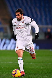 03.02.2019, Stadio Olimpico, Rom, ITA, Serie A, AS Roma vs AC Milan, 22. Runde, im Bild rodriguez // rodriguez during the Seria A 22th round match between AS Roma and AC Milan at the Stadio Olimpico in Rom, Italy on 2019/02/03. EXPA Pictures © 2019, PhotoCredit: EXPA/ laPresse/ Alfredo Falcone<br /> <br /> *****ATTENTION - for AUT, SUI, CRO, SLO only*****