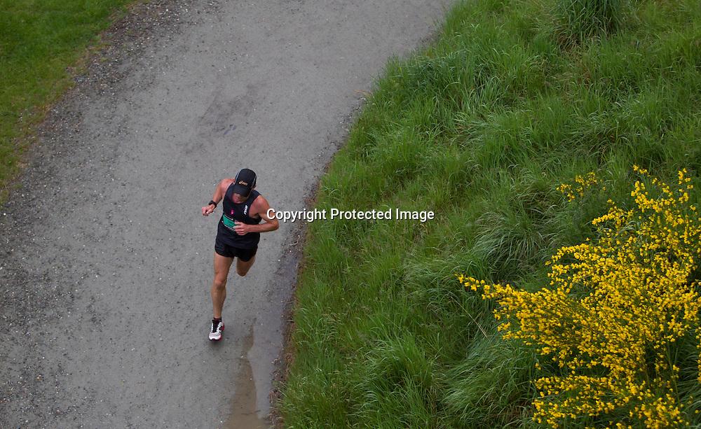 22.11.14 Queenstown, New Zealand. Scenes from the Queenstown International Marathon