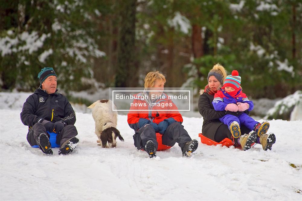 Having fun in the snow at the Cairngorm Ski Area as Storm Doris hits the UK. 24 Feb 2017 (c) Brian Anderson | Edinburgh Elite media