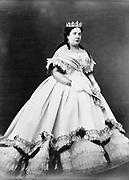 Maria Christina, Queen regent  of Spain, full-length portrait. photographic print : albumen..[between 1860 and 1870]
