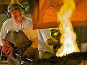 England,Chicester,West Sussex. West Dean College,Summer school blacksmith course.<br />