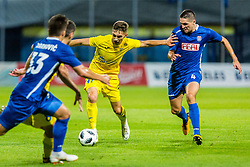 Adam Gnezda Cerin of NK Domzale during 2nd leg football match between NK Domzale and NK Siroki Brijeg in 1st Qualifying round of UEFA Europa League, on July 19, 2018 in Domzale Sports Park, Domzale, Slovenia. Photo by Ziga Zupan / Sportida