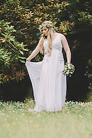 wedding photography creations in my beautiful kuaotunu garden boohoo vintage quicky crazy themed wedding photos on the coromandel peninsula