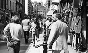 London Street scene, London, UK, 1980s.