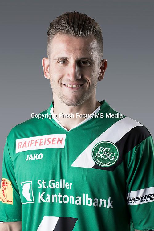 10.07.2013; St.Gallen; Fussball Super League - Portrait FC St.Gallen; <br />Muhamed Demiri (HO/freshfocus)
