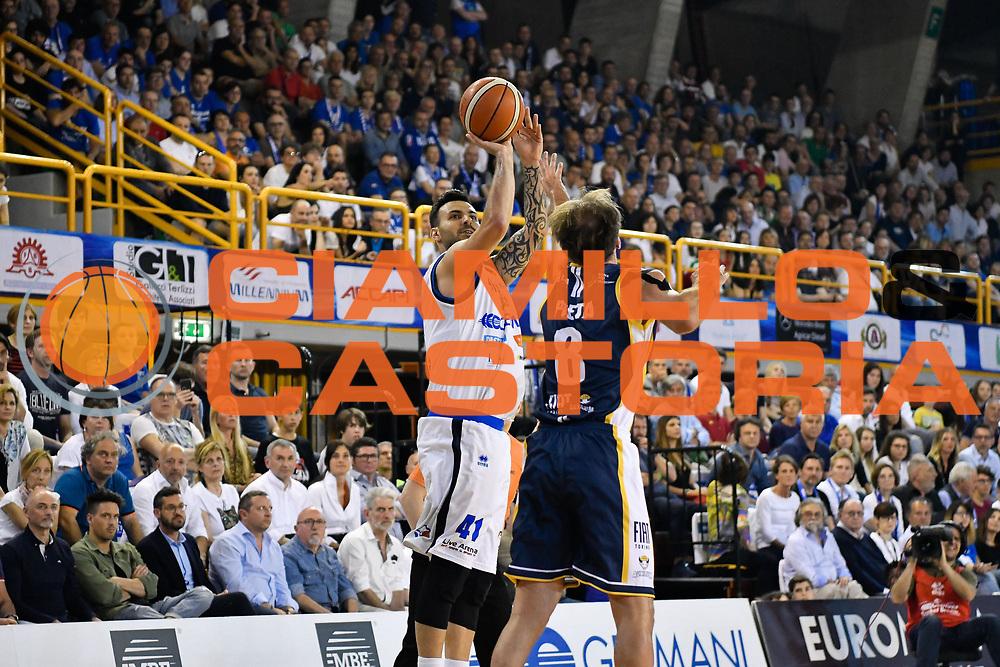 Sacchetti Brian<br /> Germani Basket Brescia - Fiat Torino<br /> Legabasket Serie A 2017/18<br /> Brescia, 06/05/2018<br /> Foto G.Checchi / Ciamillo-Castoria