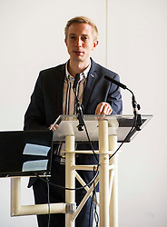 Pictured: Dr Jan Eichhorn, University of Edinburgh<br /> <br /> Political scientists from the Academy of Government at the University of Edinburgh discussed the factors that influenced voters, the direction of Scottish politics, and analysed changes since the 2015 general election. Among the speakers were Dr Jan Eichhorn (University of Edinburgh), Professors Ailsa Henderson and James Mitchell (University of Edinburgh), Professor Roger Scully (University of Cardiff) and Dr Heinz Branbdenburg (Strathclyde University). Politicians joined the group discussion chaired by Mandy Rhodes (Holyrood Editort) with Marco Biagi (SNP), Nules Briggs (Conservative), Gavin Corbett (Greens), Juliet Swann (Associate Consultant at McNeill and Stone) and Martyn McCluskey (Labour) <br /> <br /> Ger Harley | EEm 13 May April 2016