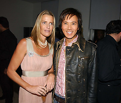 INDIA HICKS and ANDY WONG at a party to celebrate the launch of India Hick's 'Island Living' range of frangrance and beauty products in association with Crabtree & Evelyn held at The Hempel, Craven Hill Gardens, London on 22nd November 2006.<br /><br />NON EXCLUSIVE - WORLD RIGHTS