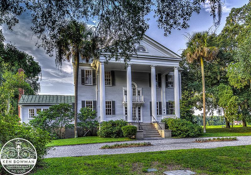 McLeod Plantation Mansion at sunrise #5.