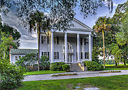 McLeod Plantation Mansion at sunrise #5.