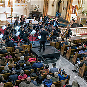 The Church of St. Veronica  Inaugural Free Concert presented by WestView News on November 25,2017.<br /> Music program:<br /> 1) George Frideric Handel, Concerto Grosso in D, Opus 6,#5 ( 1730) .<br /> 2) Johann Sebastian Bach &quot;Wedding Cantata ( before 1730)<br /> 3) Wolfgang Amadeous Mozart  Serenade in D &quot;Serenata Nortturna&quot; (1773)<br /> 4) Franz Joseph Haydn Symphony #47 in G major, &quot;The Palindrome&quot; (1772)<br /> <br /> The Church of is a Roman Catholic parish church in the Roman Catholic Archdiocese of New York, located at 153 Christopher Street between Greenwich and Washington Streets in the West Village area of the Greenwich Village neighborhood of Manhattan, New York City. <br /> <br /> The parish was established in 1887, and the church was built between 1890 and 1903. It is located within the New York City Landmarks Preservation Commission's Greenwich Village Historic District Extension I, which was designated in 2006.