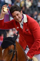 Guerdat Steve (SUI) - Nino des Buissonnets<br /> Olympic Games London 2012<br /> © Hippo Foto - Christophe Bricot