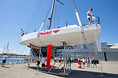SAILING - PREPARATION OF THE LIFT 40 BLACK MAMBA - YOANN RICHOMME 2018 250318