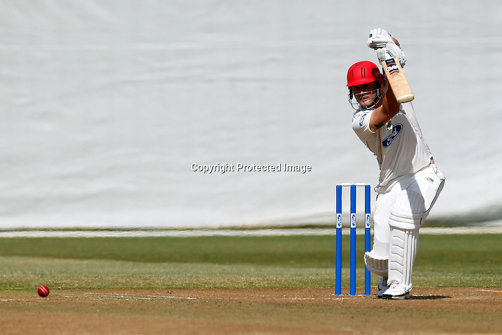 Rob Nicol, Plunket shield cricket. Auckland Aces v Canterbury Wizards. 4 Day domestic cricket. Colin Maiden Park, Auckland. 27 March 2012. Photo: William Booth/photosport.co.nz