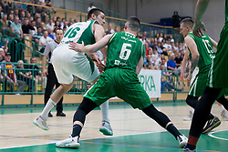 Marko Josilo of KK Krka during basketball match between KK Krka Novo mesto and  KK Petrol Olimpija in 2nd Final game of Liga Nova KBM za prvaka 2017/18, on May 22, 2018 in Sports hall Leona Stuklja, Novo mesto, Slovenia. Photo by Urban Urbanc / Sportida
