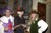 Will Maunder-Taylor, 'Anastasia' and Merlin Hanbury-Tenison . Philip Sallon and Bruce Fielding Joint birthday party. Home House. London. 12  November 2005 . ONE TIME USE ONLY - DO NOT ARCHIVE © Copyright Photograph by Dafydd Jones 66 Stockwell Park Rd. London SW9 0DA Tel 020 7733 0108 www.dafjones.com