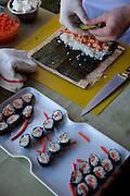 Sushi, Talon Lodge, Sitka, Alaska