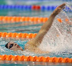 10-04-2014 NED: NK Swim Cup, Eindhoven<br /> Sebas van Lith, 400m wissel