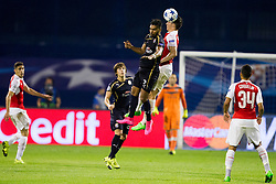 El Arabi Hilal Soudani #2 of GNK Dinamo Zagreb during football match between GNK Dinamo Zagreb, CRO and Arsenal FC, ENG in Group F of Group Stage of UEFA Champions League 2015/16, on September 16, 2015 in Stadium Maksimir, Zagreb, Croatia. Photo by Urban Urbanc / Sportida