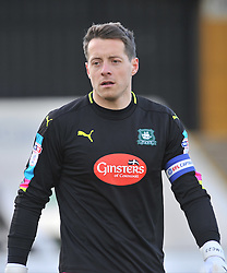 LUKE McCORMICK GOALKEEPER PLYMOUTH ARGYLE, Cambridge United v Plymouth Argyle, Sky Bet League Two Abbey Stadium, Saturday 4th February 2017. <br /> Score 0-1 (SARCEVIC)