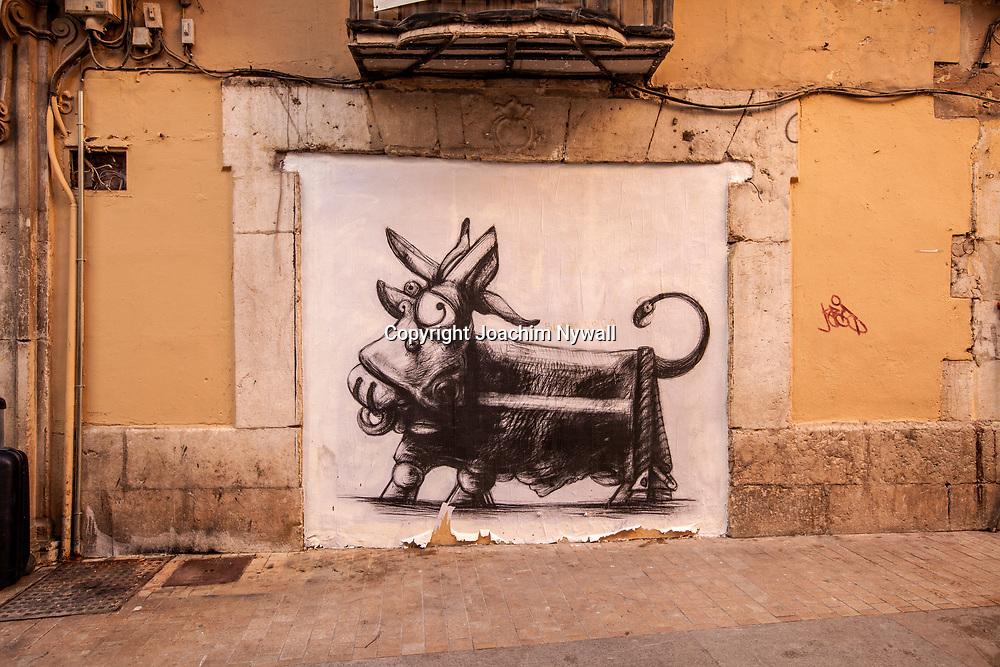 2016 02 17 Malaga Andalusien Spanien<br /> Street art i centrala Malaga<br /> <br /> ----<br /> FOTO : JOACHIM NYWALL KOD 0708840825_1<br /> COPYRIGHT JOACHIM NYWALL<br /> <br /> ***BETALBILD***<br /> Redovisas till <br /> NYWALL MEDIA AB<br /> Strandgatan 30<br /> 461 31 Trollh&auml;ttan<br /> Prislista enl BLF , om inget annat avtalas.