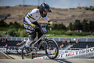 Women Junior #115 (MILLER Ashlee) AUS at the 2018 UCI BMX World Championships in Baku, Azerbaijan.