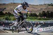 Women Junior #115 (MILLER Ashlee) AUS at the 2018 UCI BMX World Championships in Baku, Azerbaijan.