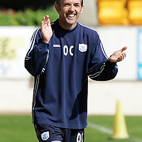St Johnstone Training...27.04.07<br />All smiles for Owen Coyle during training this morning before tomorrow's first division title clinc game against Hamilton.<br />see story by Gordon Bannerman Tel: 01738 553978 or 07729 865788<br />Picture by Graeme Hart.<br />Copyright Perthshire Picture Agency<br />Tel: 01738 623350  Mobile: 07990 594431