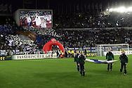 10.09.2008, Olympiastadion / Olympic Stadium, Helsinki, Finland..2010 MM-karsintaottelu Suomi - Saksa / FIFA World Cup 2010 Qualifying match Finland v Germany..Joukkueet tulossa kent?lle.©Juha Tamminen.....ARK:k