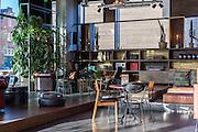 Café. Volkshotel, Amsterdam | Architect: Steven Steenbruggen