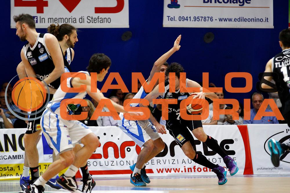 Capo d'Orlando 17/04/2016 - Basket Campionato Italiano Lega A 2015-16 - Betaland Capo d'Orlando-Dolomiti Energia Trento<br /> nella foto: Davide Pascolo<br /> Foto Ciamillo